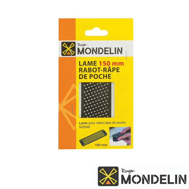 Lame de rabot-râpe petit modèle Mondelin