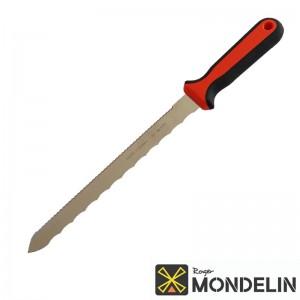 Couteau pour matériaux isolants Mondelin manche bi-mat