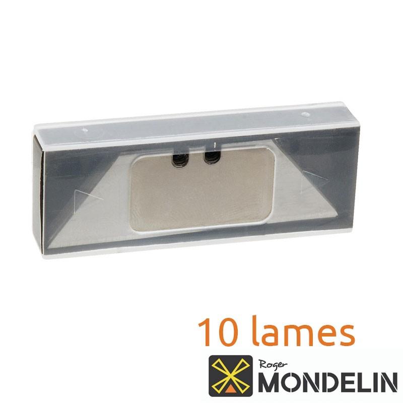 Boîte de 10 lames trapèze Mondelin