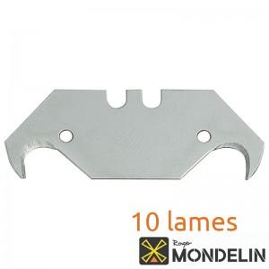 Boîte de 10 lames crochet Mondelin