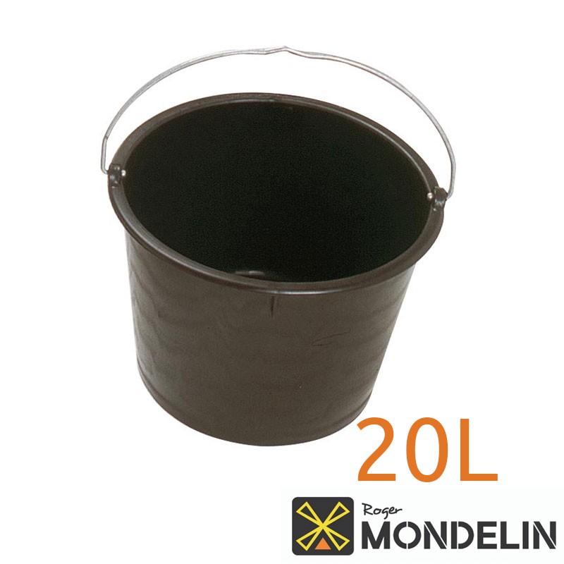 Bac rond avec anse PE Mondelin 20L