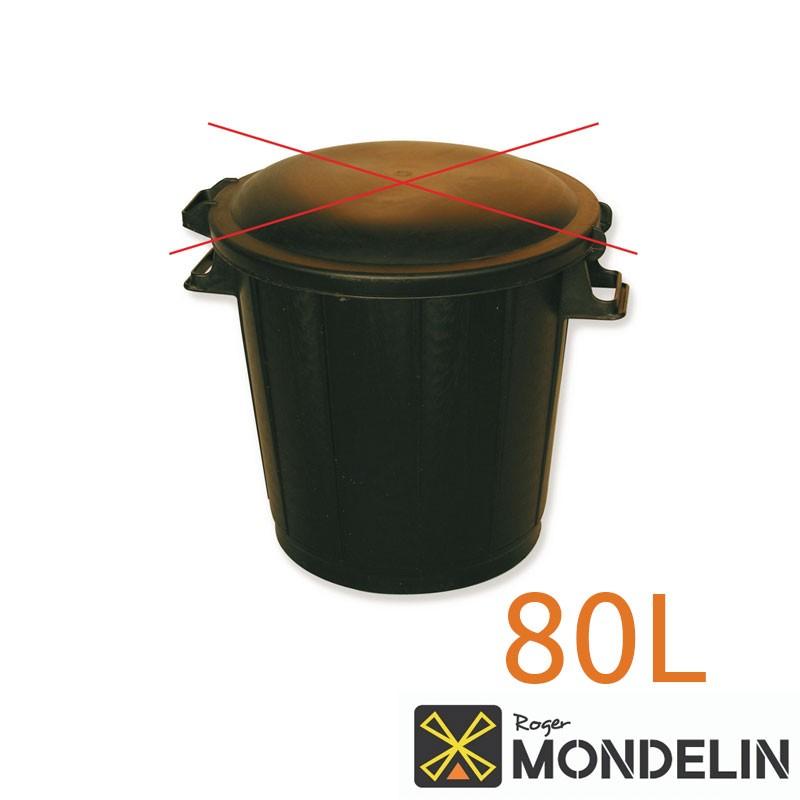 Corps de poubelle Mondelin 80L