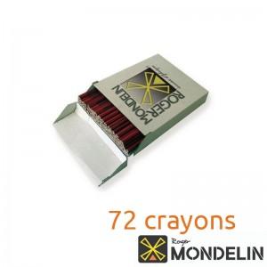 Boîte de 72 crayons charpentier Mondelin