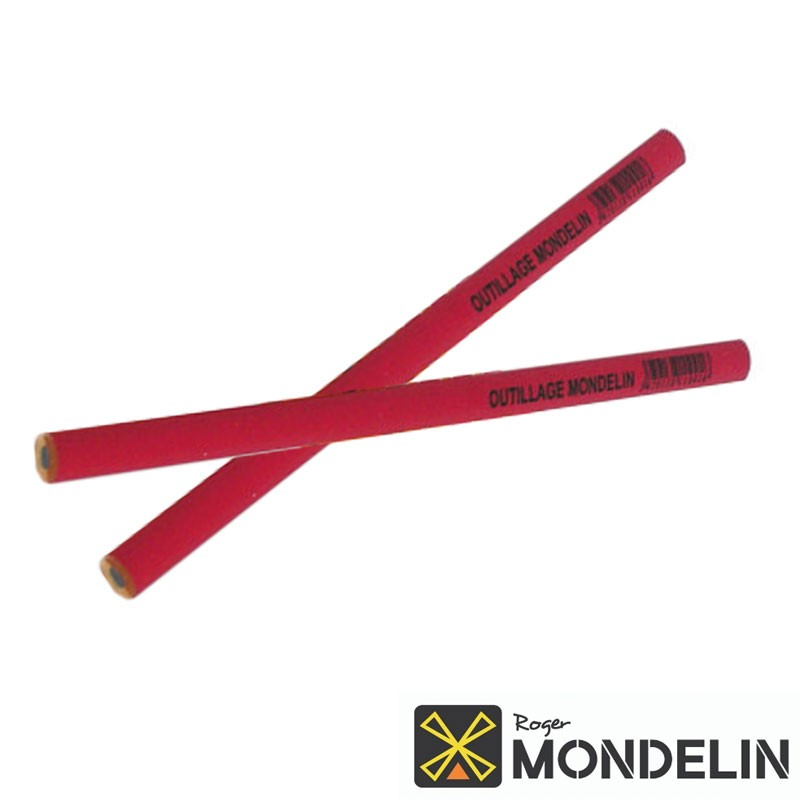 Lot de 2 crayons charpentier Mondelin
