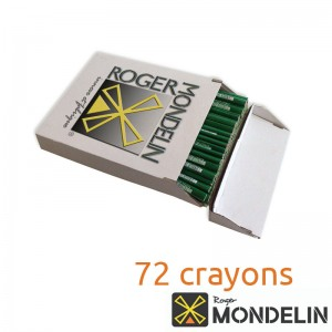 Boîte de 72 crayons maçon Mondelin