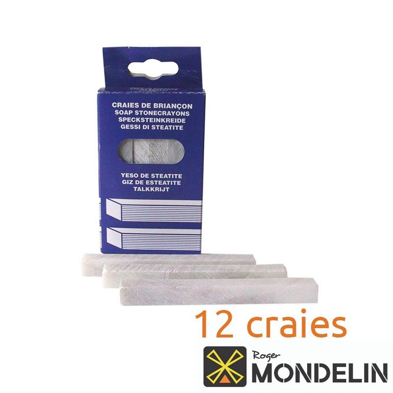 Boîte de 12 craies de briançon Mondelin 10cm