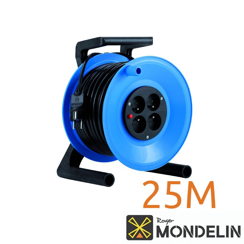 Enrouleur prolongateur électrique cat A Mondelin 25M