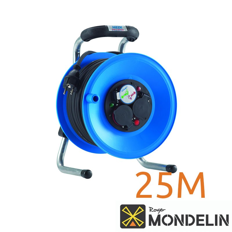 Enrouleur prolongateur électrique cat B Mondelin 25M