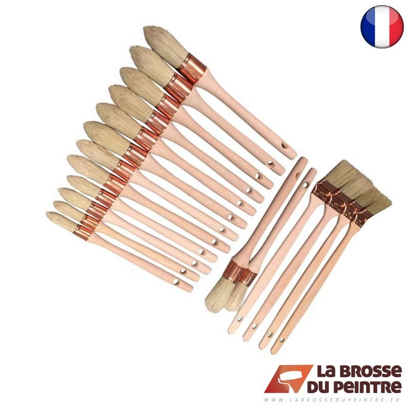 Pack de 18 brosses Chantier LBDP