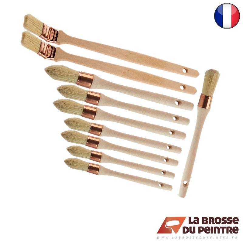 Pack de 10 brosses chantier LBDP