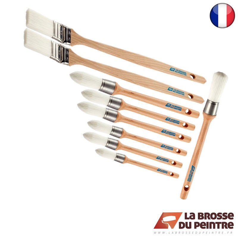 Pack de 10 brosses AQUAPREM S2F LBDP