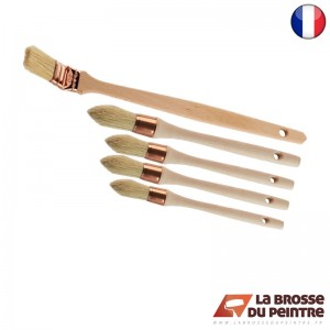 Pack de 5 brosses chantier LBDP