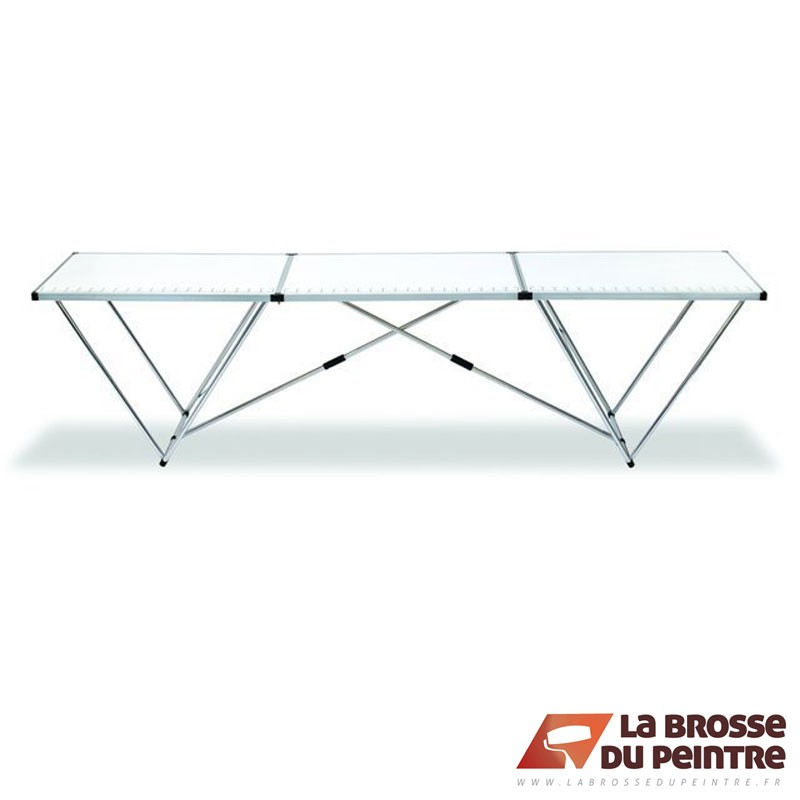Table de colleur aluminium LBDP