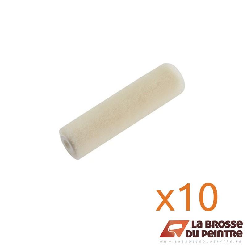 Lot de 10 manchons velours laine 4mm/Ø16mm LBDP