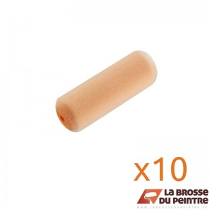 Lot de 10 manchons mousse floquée Ø16mm LBDP