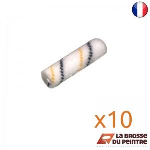 Lot de 10 manchons polyamide texturé 7mm/Ø16mm LBDP