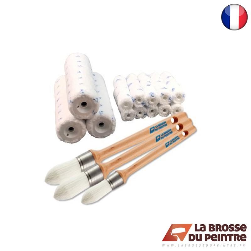 Pack de 16 manchons microfibre 10mm LBDP