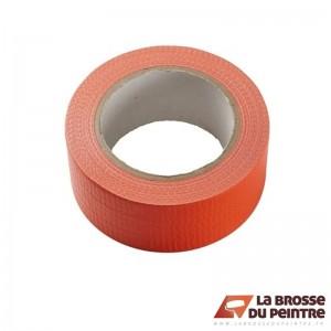 Lot de 6 rubans adhésifs toile orange LBDP
