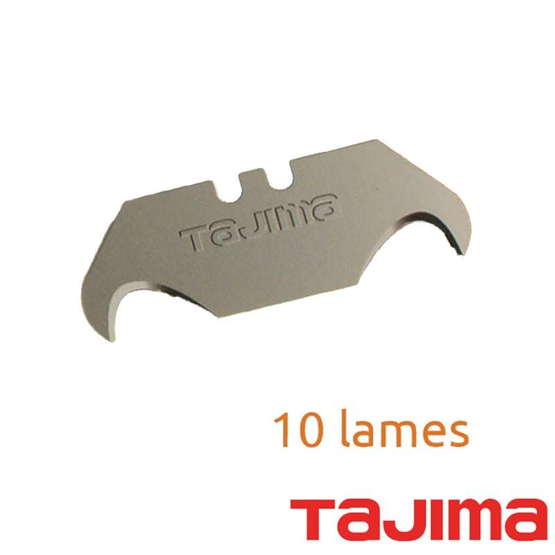Boîte de 10 lames crochet Tajima