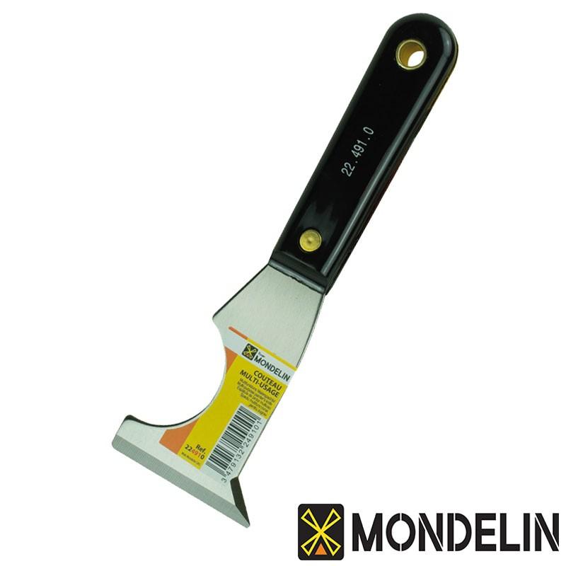 Couteau multi-usages acier/plastique Mondelin