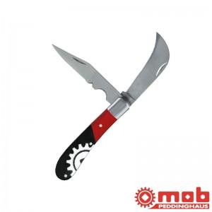Couteau d'électricien 2 lames bi-mat MOB