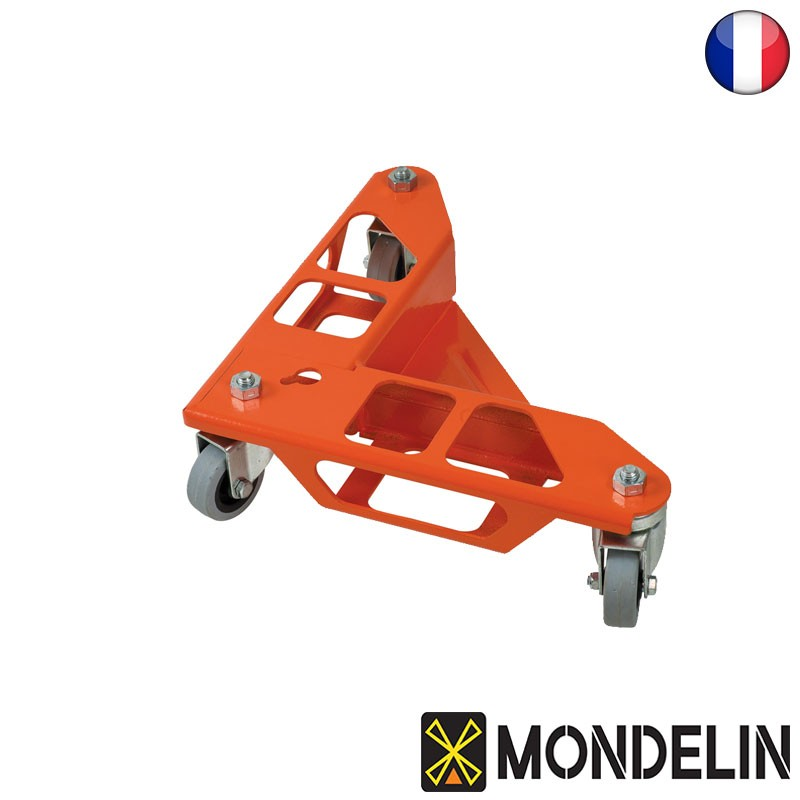 Ensemble 4 coins roule meuble Mondelin
