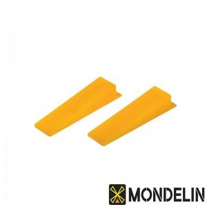 Lot de 100 coins réutilisables pour croisillons autonivelants Mondelin