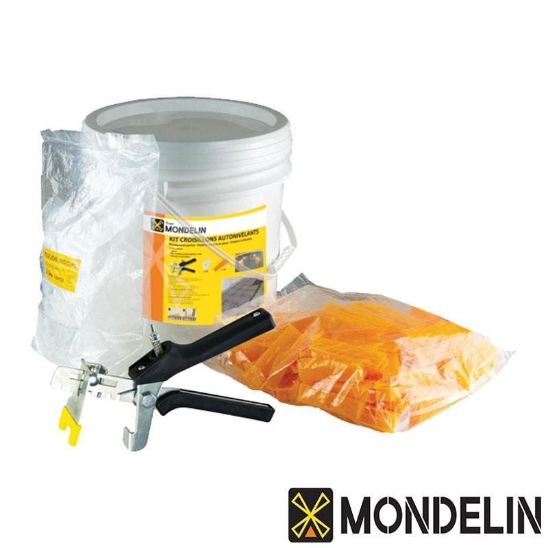 Kit complet pose de croisillons autonivelants Mondelin