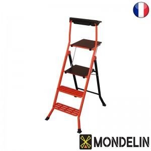 Escabeau Pro acier Lescabo Mondelin 70cm