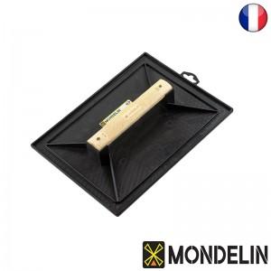 Taloche rectangulaire poignée bois Mondelin noire