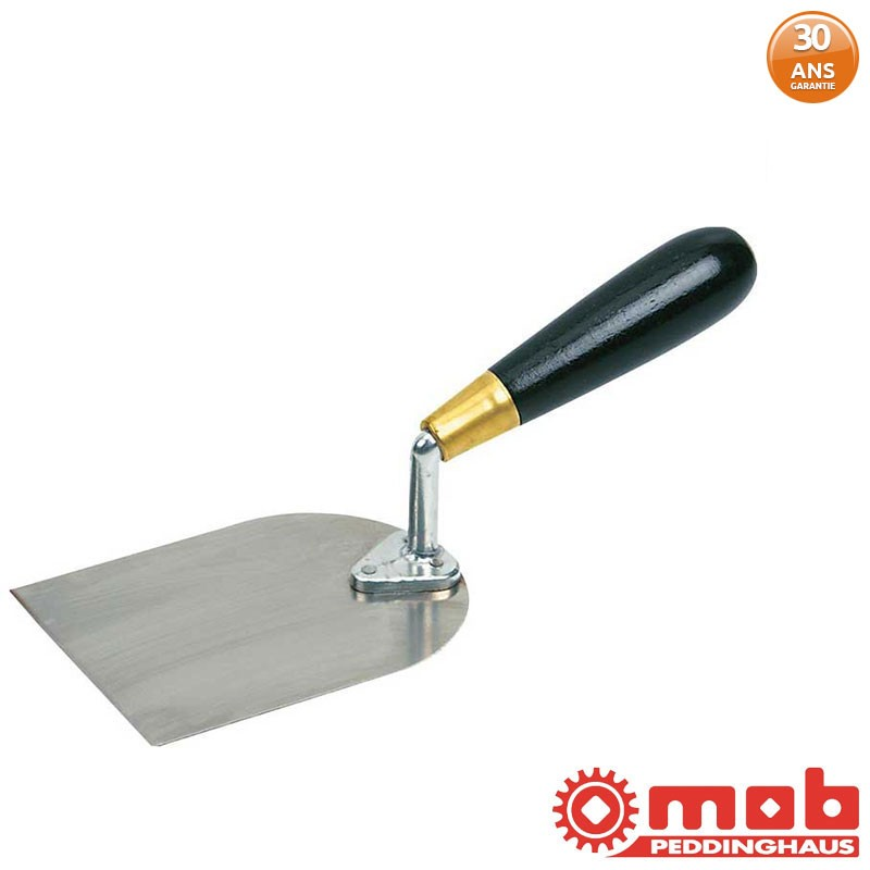 Riflard coudé stucateur inox MOB 10 cm