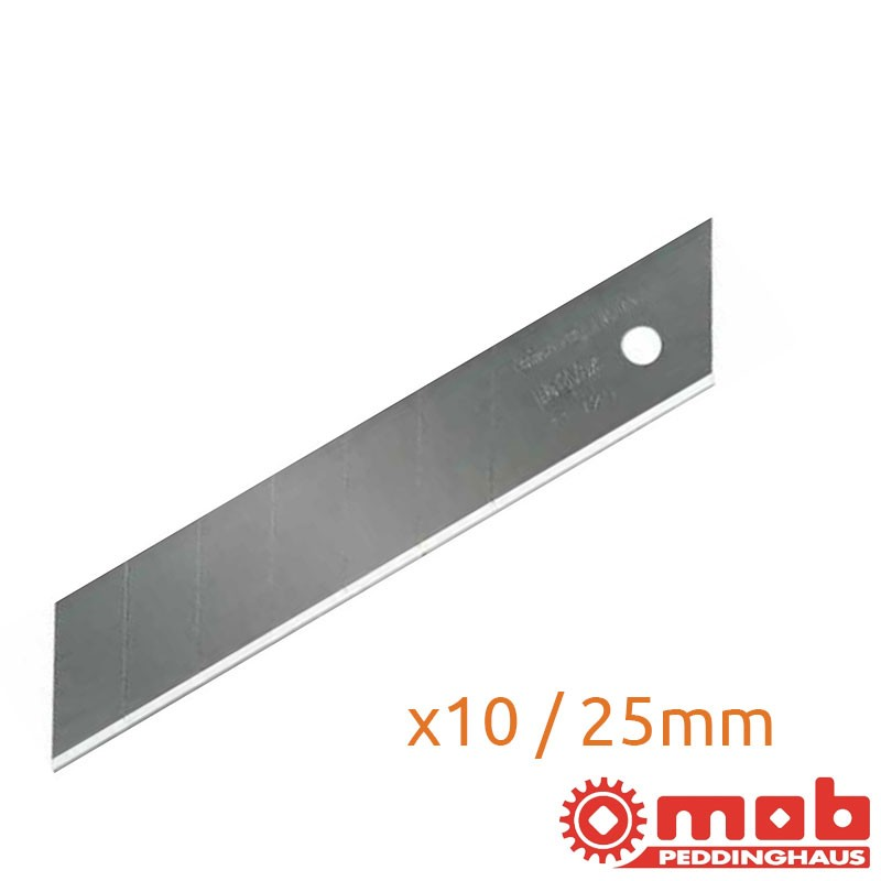Étui de 10 lames 25mm MOB
