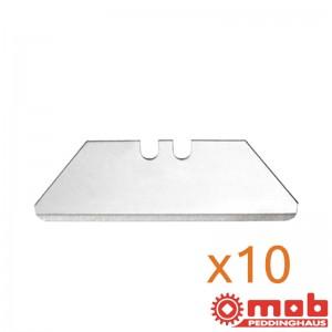 Boîtes de 10 lames trapézoïdales 25mm MOB