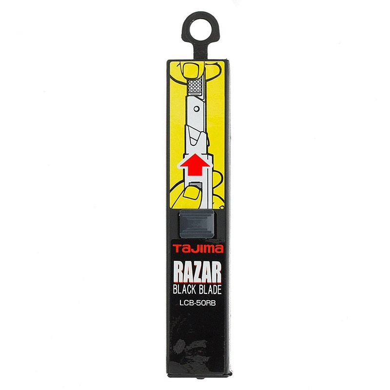 Boîte de 10 lames 18mm Razar Black Tajima
