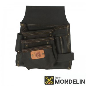 Poche simple en cuir tanné Mondelin