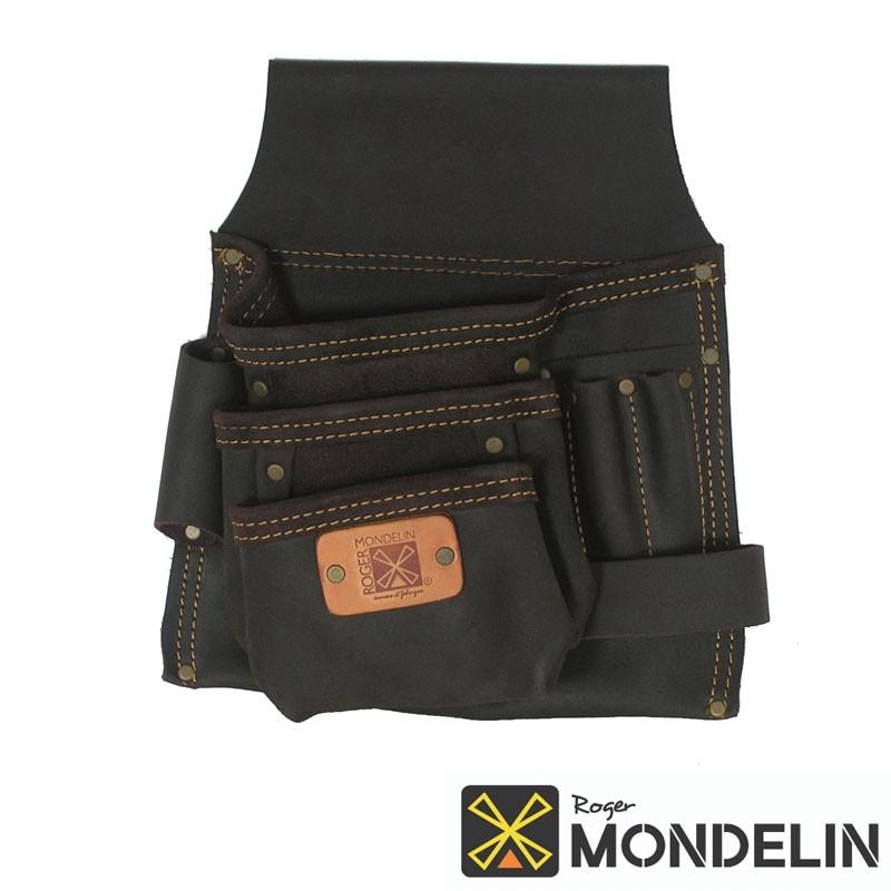 Poche simple en cuir tanné Mondelin