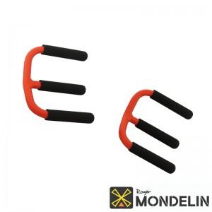 Paire de trans-plaques à griffes Mondelin