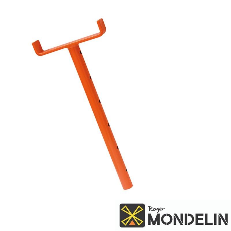Coulisse pour trépied Mondelin14cm