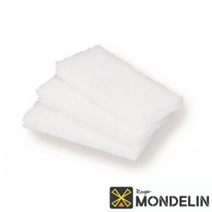 Lot de 3 tampons abrasifs Mondelin blanc