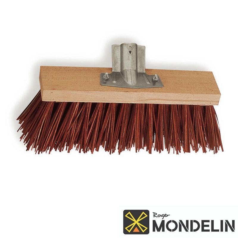 Balai de cantonnier Piassava Mondelin rouge