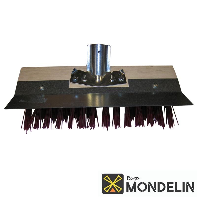 Balai de cantonnier + lame racloir Mondelin