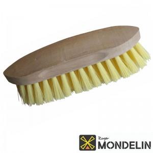 Brosse crinière polypropylène/bois Mondelin