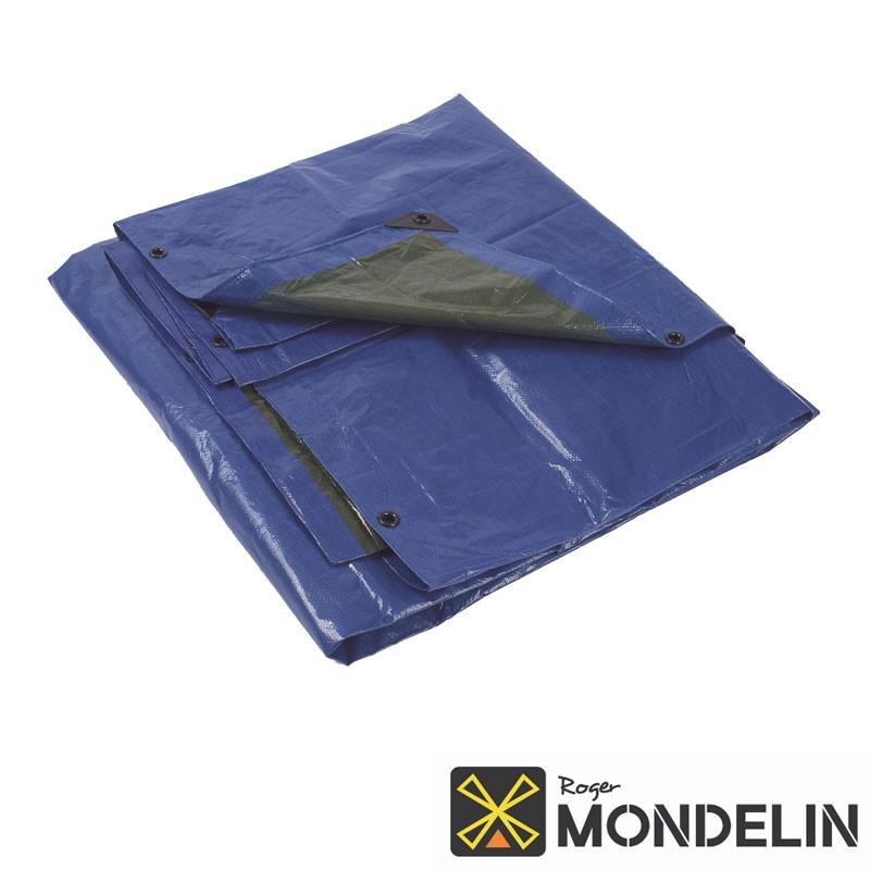 Bâche polyéthylène Mondelin vert/bleu