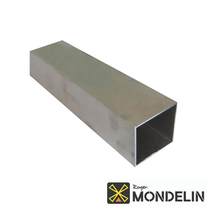Règle carrée profil H alu Mondelin 50x50mm