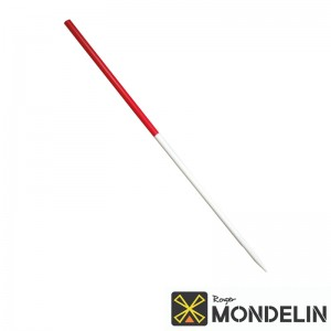 Jalon Mondelin rouge/blanc
