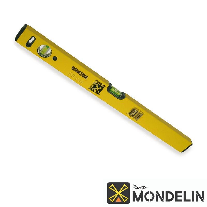 Niveau rectangle magnétique Mondelin 60cm