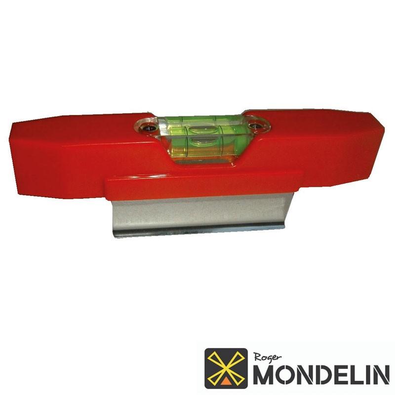 Niveau pour règle de maçon Mondelin 15cm