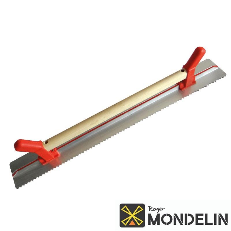 Règle à dresser à poignée côté denté Mondelin