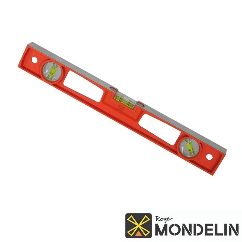 Niveau rectangle Alu moulé Mondelin