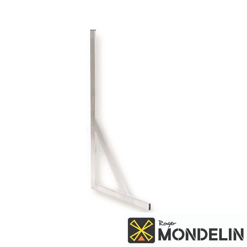 Équerre à talon avec écharpe alu Mondelin 60x120cm